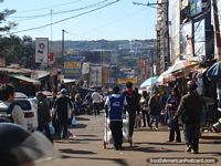 Paraguay Photo - The streets of Ciudad del Este, a shoppers haven.