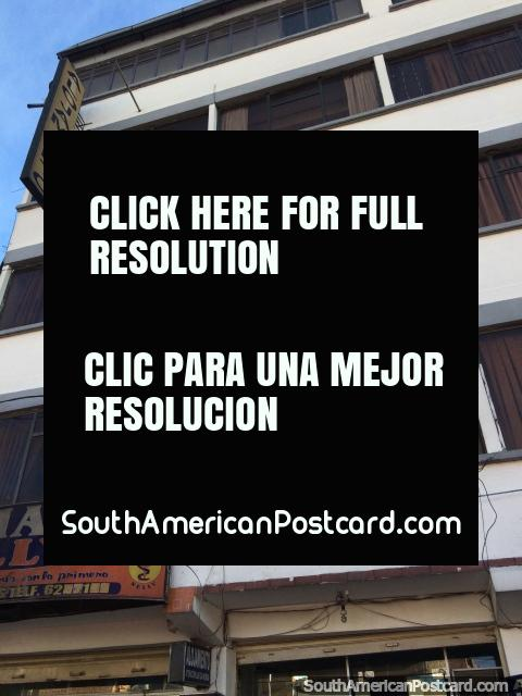 Hotel Universitaria, Potosi, Bolivia