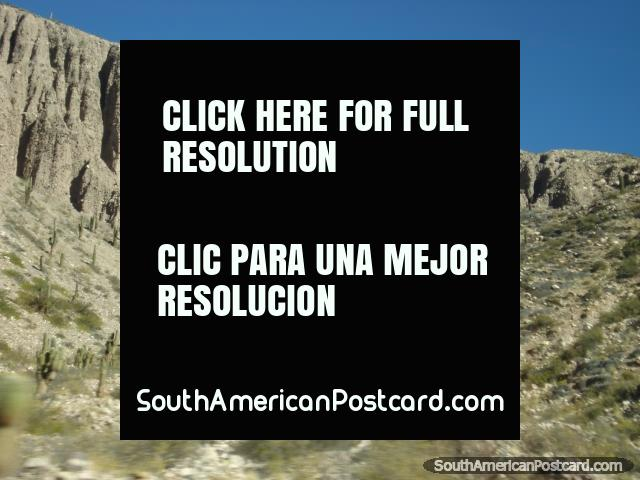 Paisajes de la roca asombrosos, Precordillera. (640x480px). Argentina, Sudamerica.