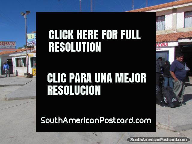 La Quiaca bus terminal. (640x480px). Argentina, South America.