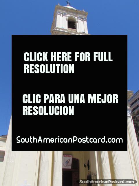 Catedral Basilica en Jujuy, incorporó el estilo barroco en 1763. (480x640px). Argentina, Sudamerica.