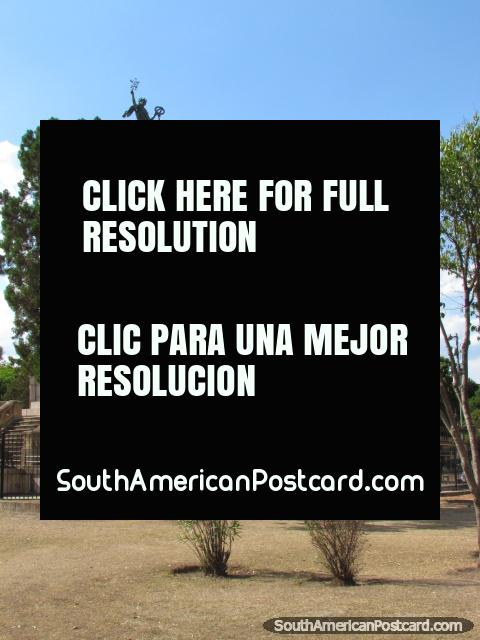 Batalla de Salta monument, Salta. (480x640px). Argentina, South America.