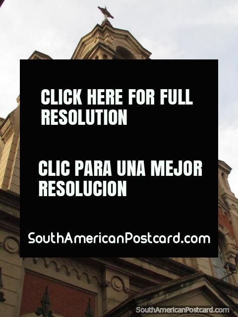 Church Instituto del Buen Pastor founded in 1896 in Rosario. (480x640px). Argentina, South America.