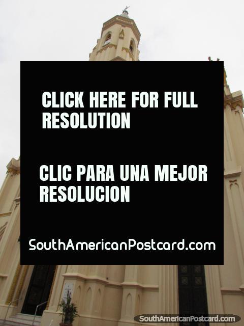 Church Parroquia San Cayetano in Rosario. (480x640px). Argentina, South America.