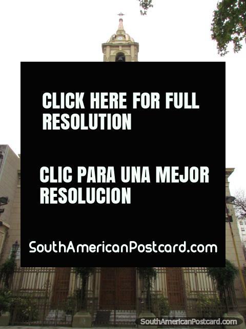 Church Basilica San Jose in Rosario. (480x640px). Argentina, South America.