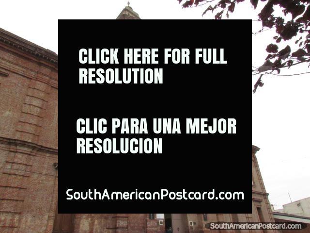 Church Sagrado Corazon de Jesus in Santa Fe. (640x480px). Argentina, South America.