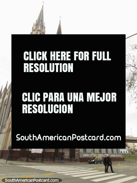 Church Iglesia Inmaculado Corazon de Maria in Buenos Aires. (480x640px). Argentina, South America.