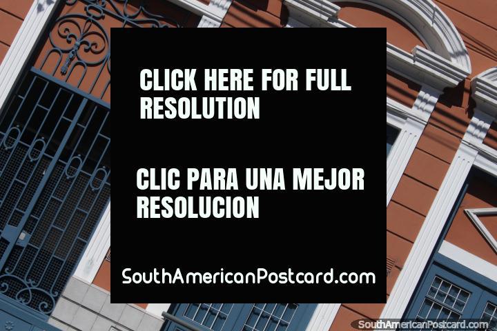 Santa Teresa de Jesus College in Salta, nice facade. (720x480px). Argentina, South America.