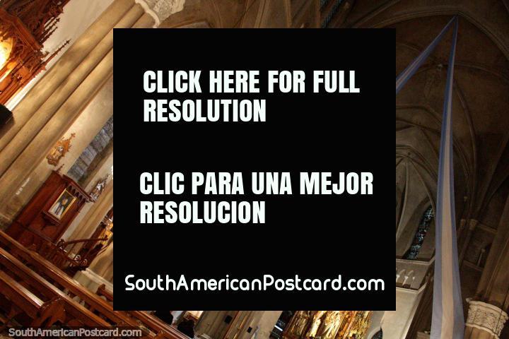 El interior de la Parroquia San Juan Bautista de la Merced (1914), Salta. (720x480px). Argentina, Sudamerica.