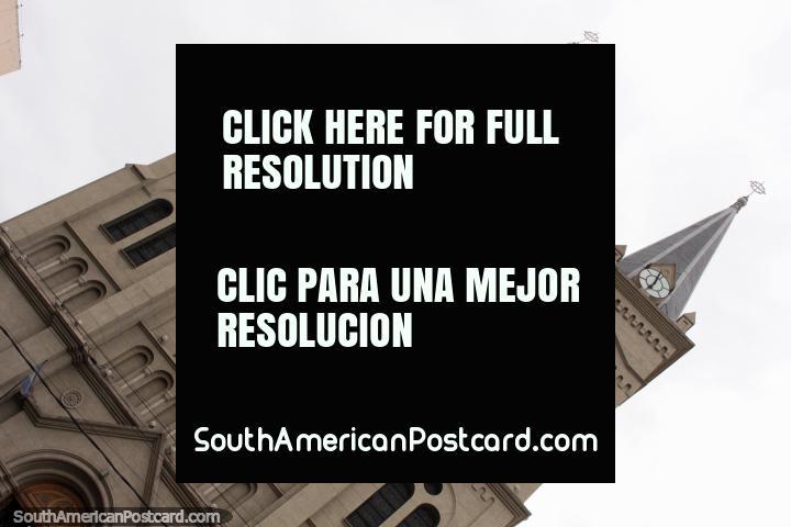 Parroquia Nuestra Señora del Perpetuo Socorro y San Alfonso en Salta (1911). (720x480px). Argentina, Sudamerica.