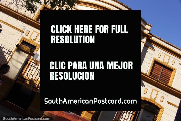 Sociedad Espanola de S.M, a beautiful historic building in Posadas. (720x480px). Argentina, South America.