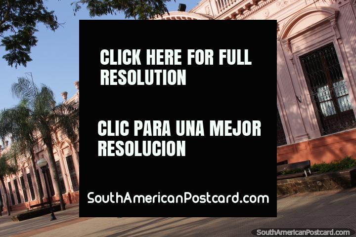 Government House in Posdas - Casa de Gobierno Provincia de Misiones, built in 1883, fantastic building! (720x480px). Argentina, South America.