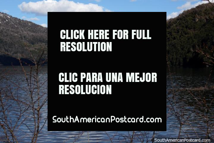 Lake Falkner, another of the famous 7 lakes between Villa La Angostura and San Martin de los Andes. (720x480px). Argentina, South America.