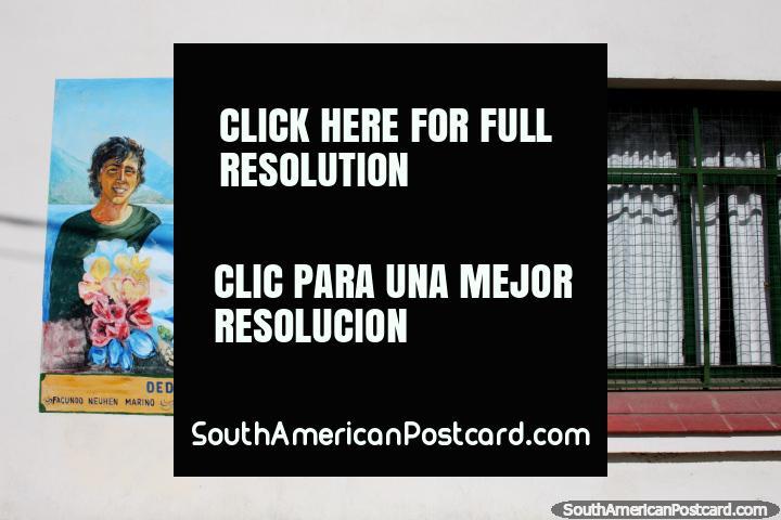 Dedication to 3 backpackers killed by a drunk driver near El Bolson - Facundo Neuhen Marino, Juan Enrique Schott and Eugenio Yevhen Tretyakov (25/01/2011). (720x480px). Argentina, South America.