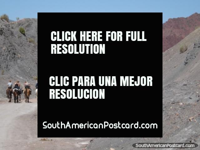 Riding the mountains of Tupiza. (640x480px). Bolivia, South America.