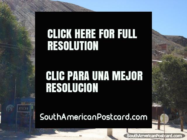 Atocha, shops and housing. (640x480px). Bolivia, South America.