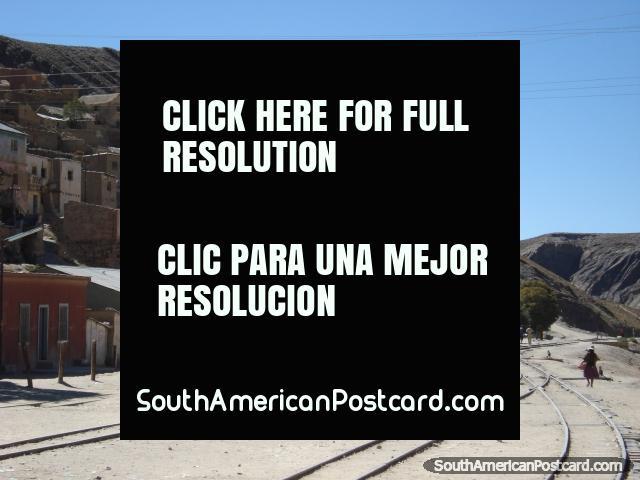 Train station in Atocha. (640x480px). Bolivia, South America.