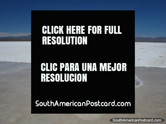 A huge pile of salt in the Salar de Uyuni. (640x480px). Bolivia, South America.