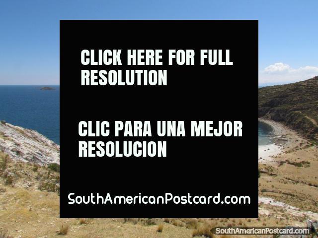 Heaven on earth, Isla del Sol at Lake Titicaca. (640x480px). Bolivia, South America.