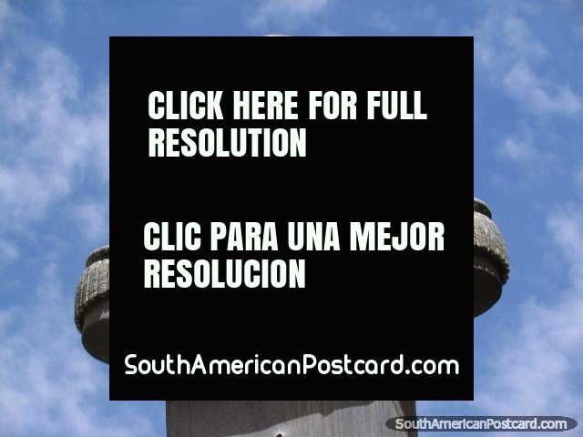 Juan Jose Perez (1725-1775), Spanish explorer, monument in La Paz. (640x480px). Bolivia, South America.