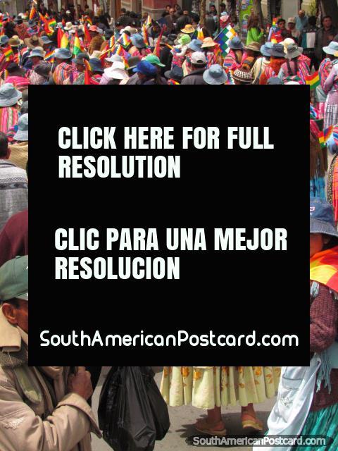 Colors of Bolivia, La Paz. (480x640px). Bolivia, South America.