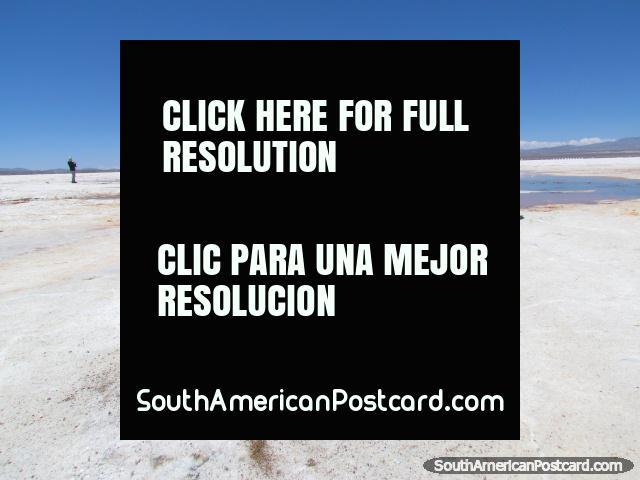 Ojos do Salar, Olhos dos Apartamentos de Sal, Uyuni. (640x480px). Bolívia, América do Sul.