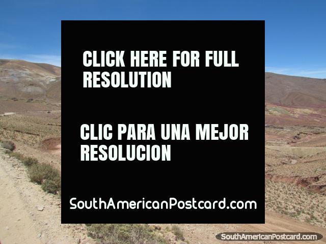 The mining town of Pulacayo between Uyuni and Potosi. (640x480px). Bolivia, South America.