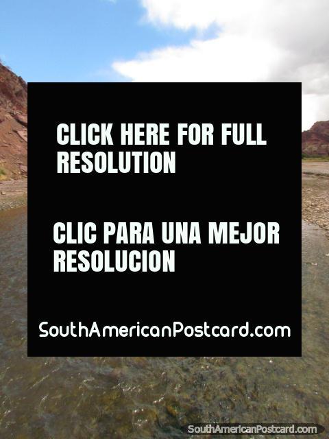 River in Tupiza. (480x640px). Bolivia, South America.