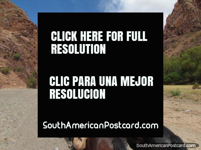 A great place for horse riding in Tupiza, wild terrains. (640x480px). Bolivia, South America.