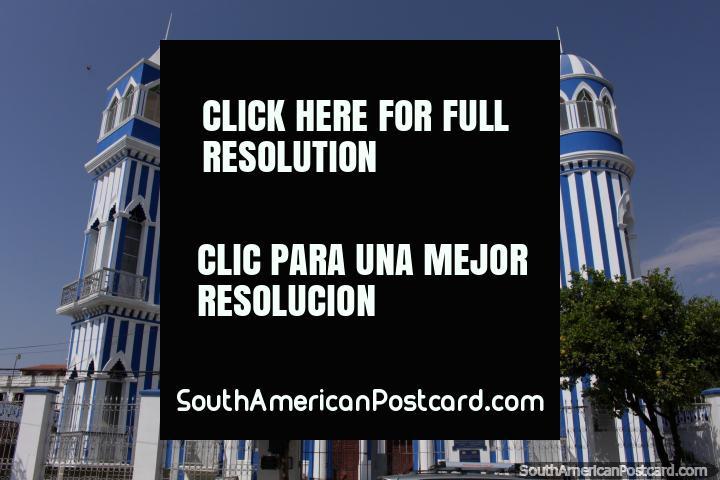 Castillo Azul - The Blue Castle in Tarija. (720x480px). Bolivia, South America.