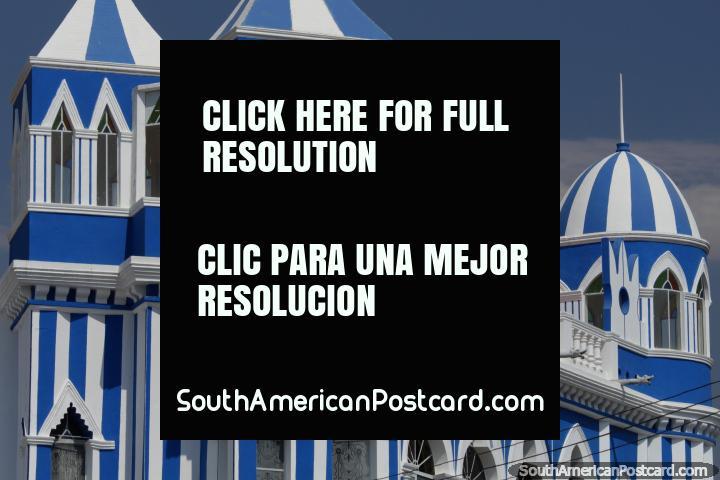 El Castillo Azul, construida en la primera mitad del siglo 20 en Tarija. (720x480px). Bolivia, Sudamerica.