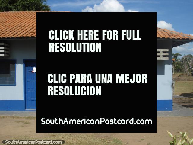 Cuartos y residencias de estudiantes en granja de Santa Clara en Pantanal. (640x480px). Brasil, Sudamerica.