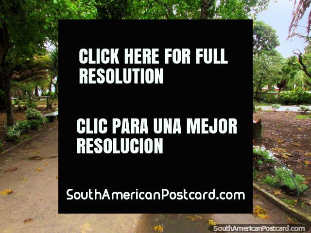 Nice park in Rio Grande - Plaza Xavier Ferreira. (640x480px). Brazil, South America.