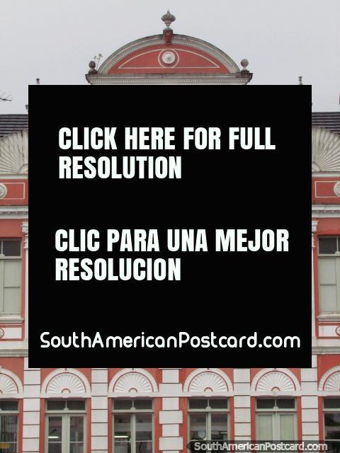 Palácio Cruz e Sousa em Florianopolis. (480x640px). Brasil, América do Sul.
