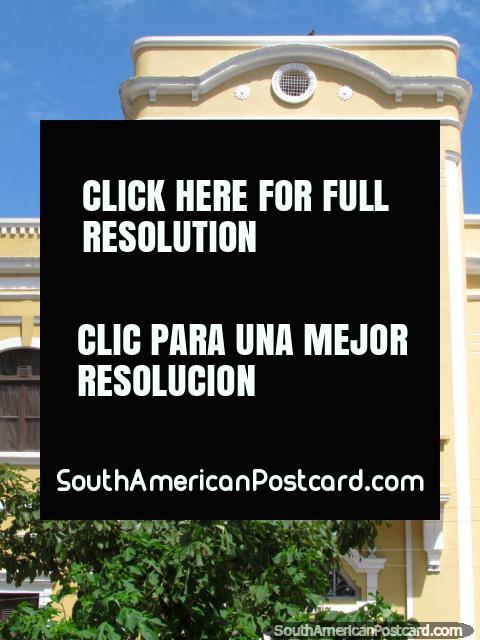 Casa Jose Boiteux, edificio histórico en Florianopolis. (480x640px). Brasil, Sudamerica.