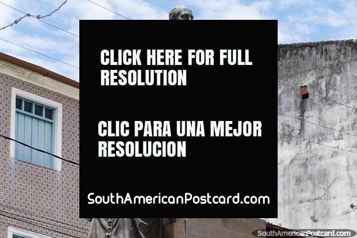 3 figuras, o monumento para lembrar-se 15 de novembro de 1889 - Proclamação da república do Brasil. (720x480px). Brasil, América do Sul.
