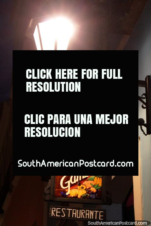 Restaurant Casa da Gamboa in Salvador, well-rated. (480x720px). Brazil, South America.
