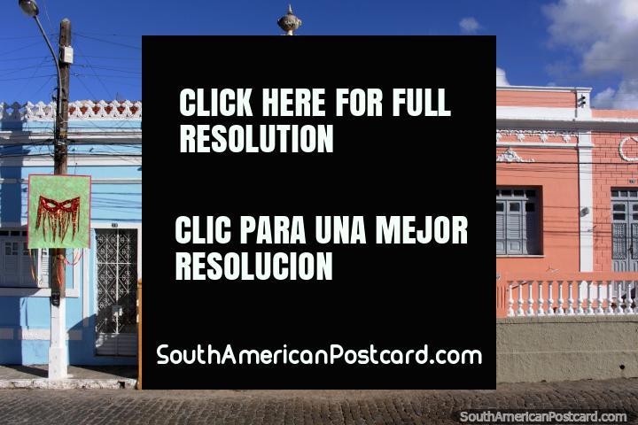Houses in Penedo, colorful Portuguese architecture. (720x480px). Brazil, South America.
