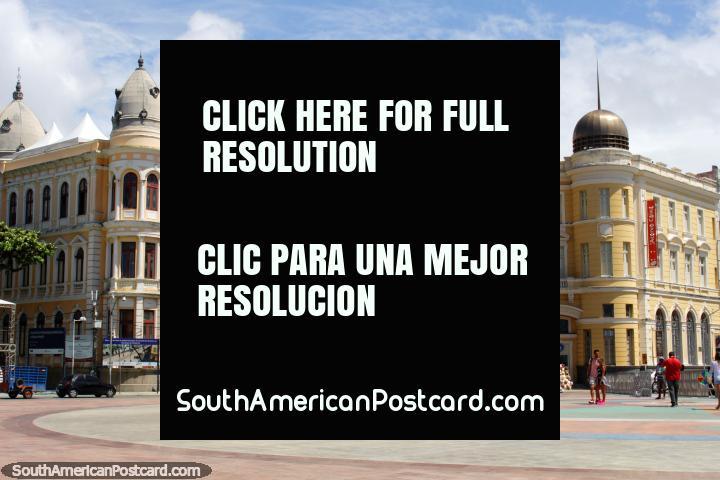 Marco Zero / Plaza Barao do Rio Branco - a public space for events in Recife. (720x480px). Brazil, South America.