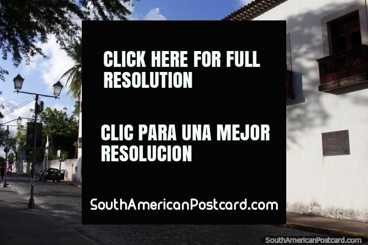 Museum of Arte Sacra de Pernambuco in Olinda, sacred art museum and a nice building. (720x480px). Brazil, South America.