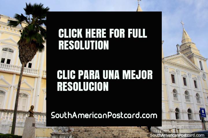 Church Igreja da Se and also the Museum of Sacred Art, Sao Luis. (720x480px). Brazil, South America.