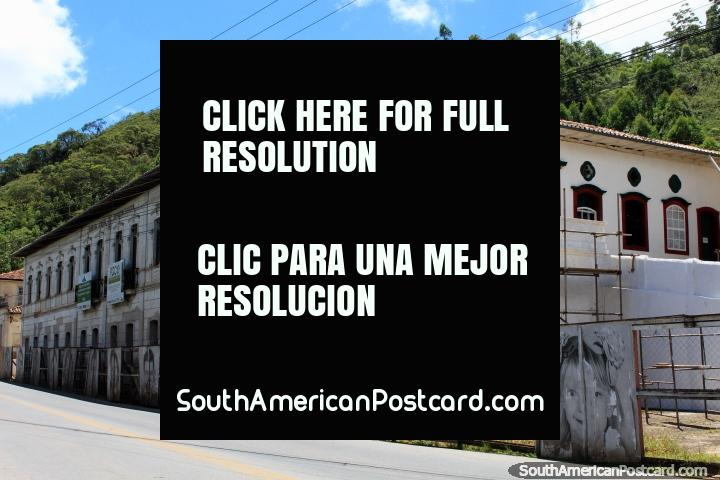 Paco da Misericordia Centro de Artes e Fazeres, the arts center in Ouro Preto, will be restored. (720x480px). Brazil, South America.