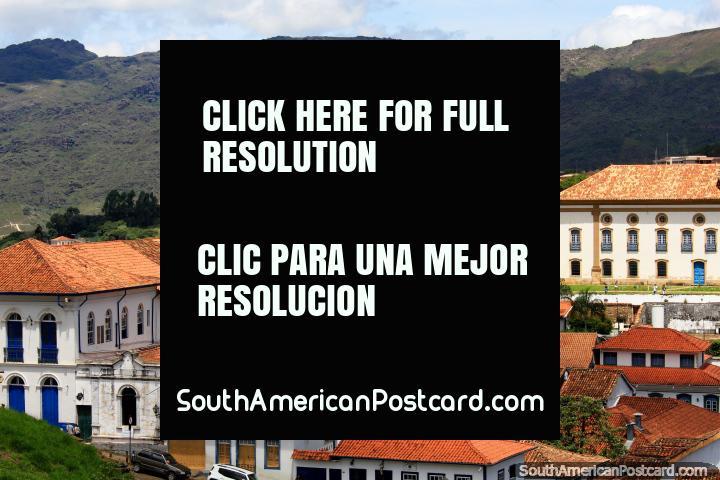 Ouro Preto traduz a Cidade Rica, a cidade de Ouro Preto! (720x480px). Brasil, América do Sul.