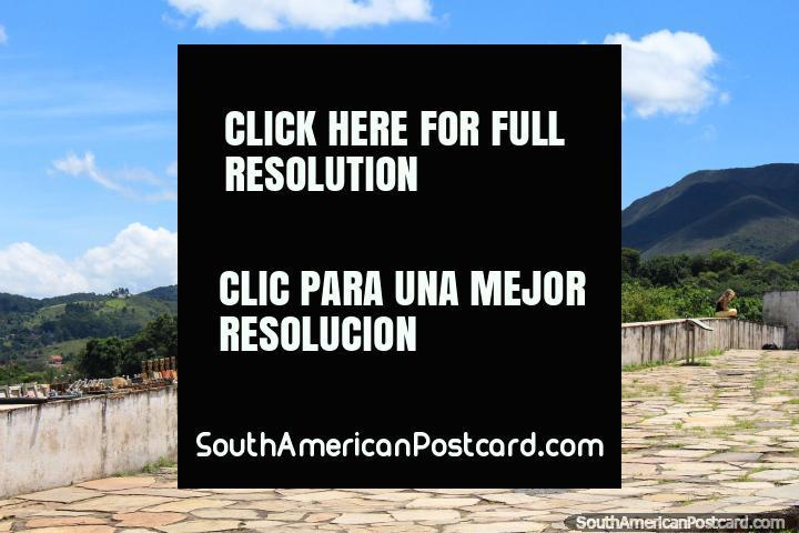 Church San Francisco de Paula, churches upon hilltops is the theme in Ouro Preto. (720x480px). Brazil, South America.