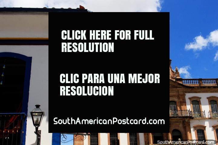 Museu da Inconfidencia (Museu de Conspiração) em lembrança do movimento de rebelião fracassado, Ouro Preto. (720x480px). Brasil, América do Sul.