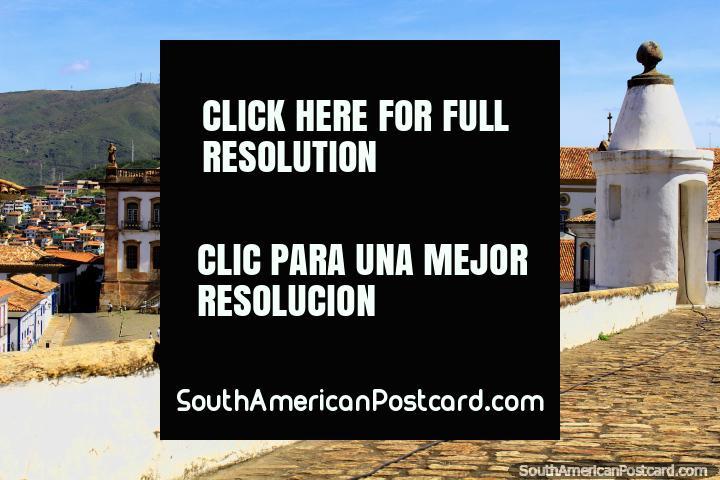 Museu da Inconfidencia (Museu de Conspiração) (1938) foi anteriormente uma cadeia (1846), Ouro Preto. (720x480px). Brasil, América do Sul.
