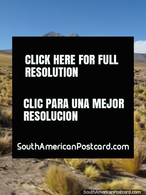 Paisaje hermoso, texturas y montañas en San Pedro de Atacama. (480x640px). Chile, Sudamerica.