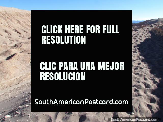 Wow, this is the Valle de la Luna! The Valley of the Moon at San Pedro de Atacama. (640x480px). Chile, South America.