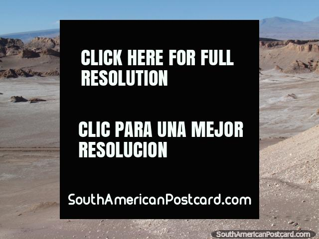 Valle de la Luna - Valley of the Moon, San Pedro de Atacama. (640x480px). Chile, South America.