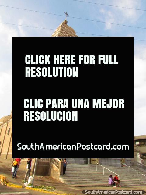 Church Basilica Corazon de Maria in Antofagasta. (480x640px). Chile, South America.